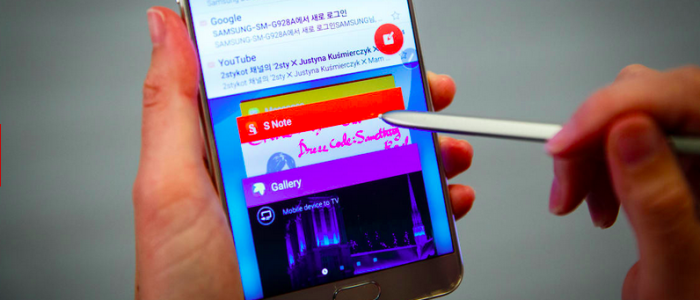 The time-saving S Pen from the Galaxy Note 5.