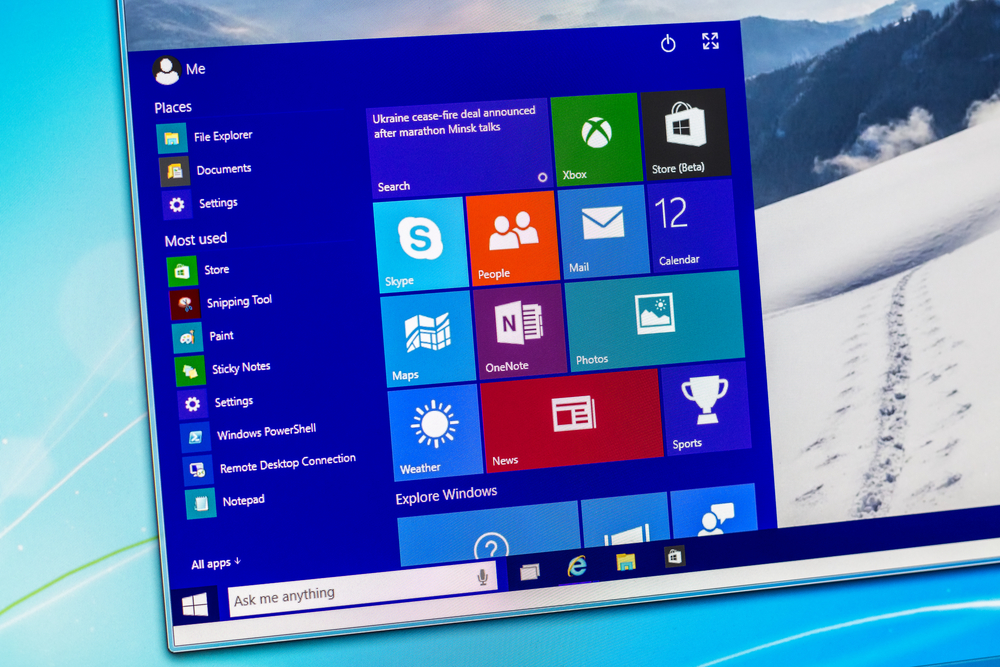Microsoft's Windows 10 ecosystem is not really a thing